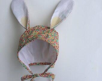 Add bunny or bear ears to any bonnet!:)