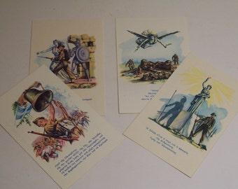 1948-49 greek civil war military postcards