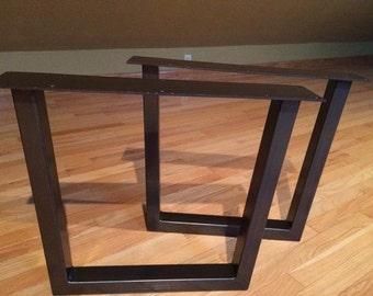 Ordinaire 15 19 Tapered Steel Tube Table Legs Custom Table Legs