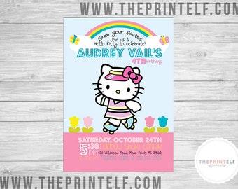Skater Kitty Invitation