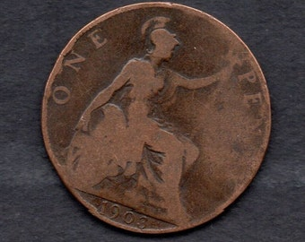 Great Britain. 1903. Edward V11.Penny Coin.