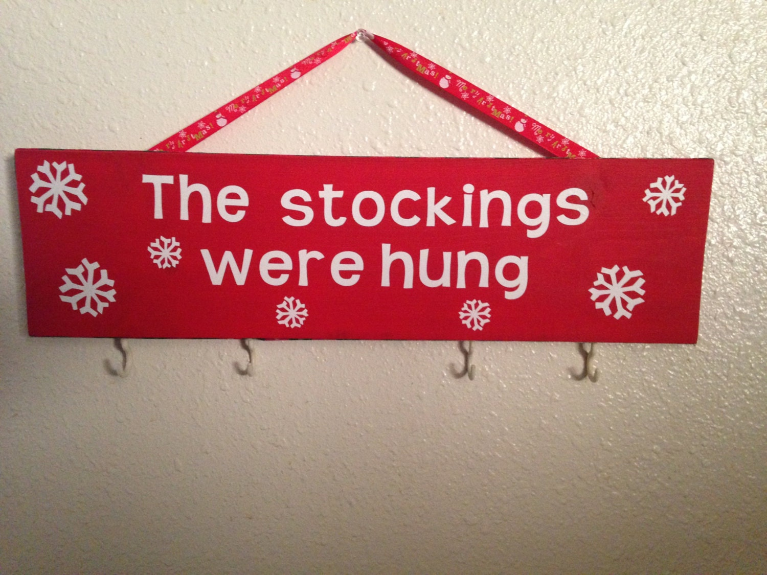 Sale the stocking were hung christmas by
