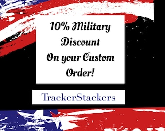 Military 10% Off Custom Orders - Fitbit Covers & Enhancers Flex Charge HR Surge Charge Garmin Jawbone UP models Weight Watchers Mio Misfit