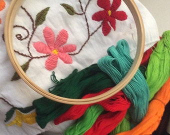 Mexican embroidey kit