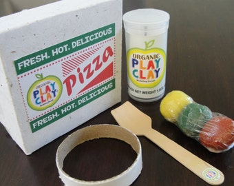 Organic Play Clay Pizza Activity Pack