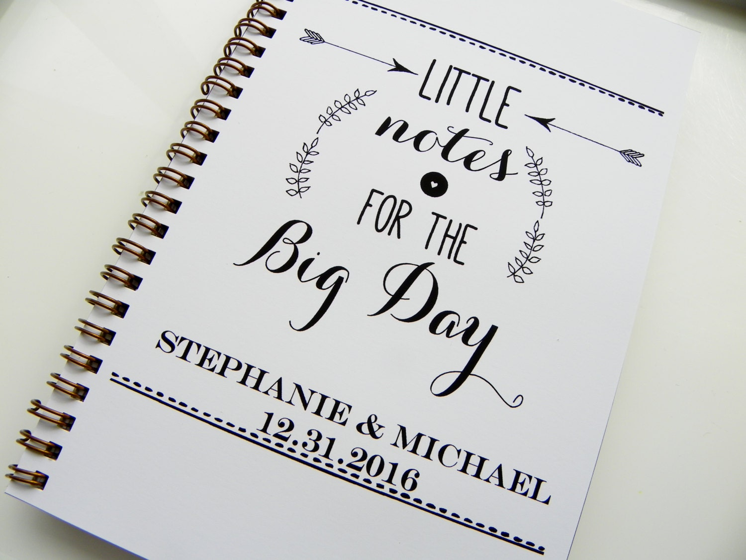Wedding Notebook Little Notes For The Big Day Wedding Planning