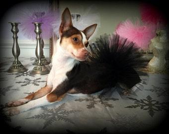 Dog Tutu, Black Dog Tutu, Dog Wedding Tutu, Puppy Tutu, Dog Clothes, Dog Costume, Dog Skirt, Puppy Skirt, Pet Tutu, Formal Dog Tutu,