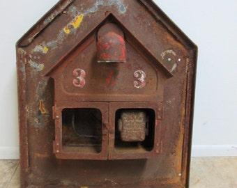 Antique Original Fire Alarm Call Box Gamewell