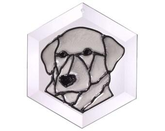 Irish Wolfhound Suncatcher