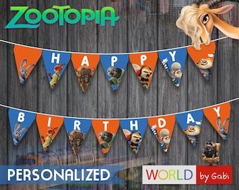 Digital Zootopia Banner   Zootropolis Banner   Zootopia Birthday   Zootropolis Birthday  