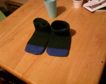 Easy crocheted sock pattern