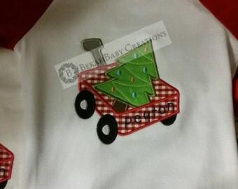 Christmas wagon-Christmas shirt