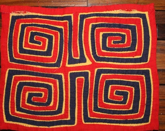 PRICE REDUCED - Authentic Mola art, from the Kuna Indians, Panama, the San Blas Islands