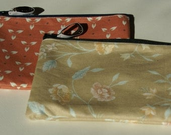 Handmade makeup bags/ penci cases