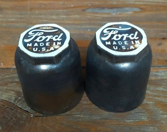 "Porcelain Ford ""Whiskey Sippers"" (Set of 2)"