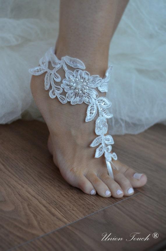 barefoot wedding shoes - photo #23