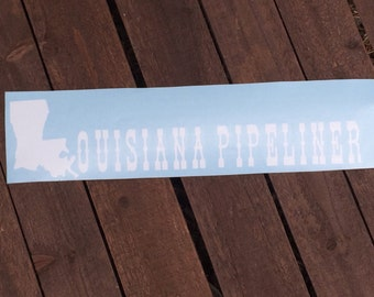 Louisiana Pipeliner Decal