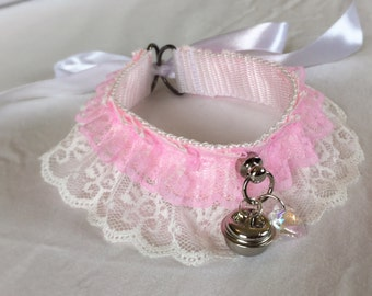Sweet Lolita Lace Collar Kitten Play