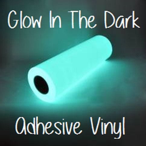 Glow In The Dark Adhesive Vinyl 12x12 Sheet Halloween Vinyl