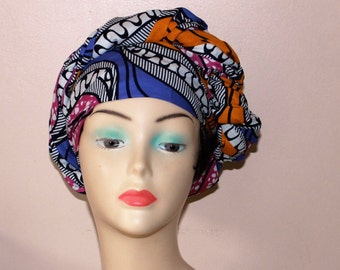 SALES**** African print Ankara headwrap and scarf, African Headtie, African Clothing, Women's Accessories, Women's Clothing