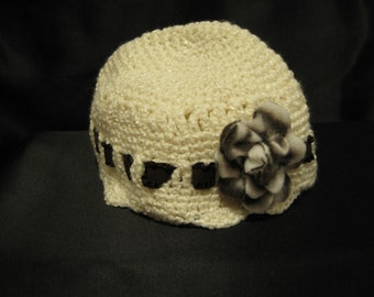 Chic, modern, all ocasion, practical fashion accessory baby hat.