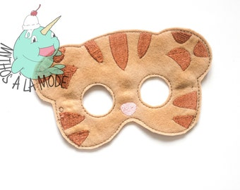 Daniel Tiger Inspired Mask