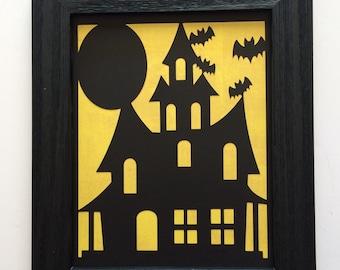 Haunted House - Halloween Decor