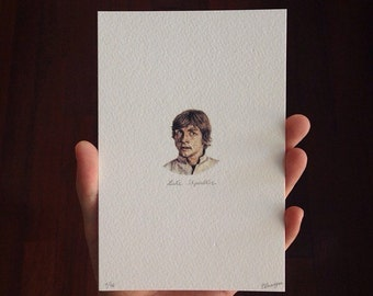 Prints of Luke Skywalker
