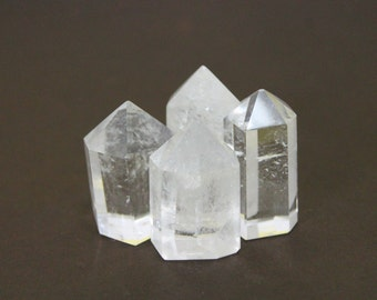 White quartz points