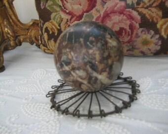Vintage Marble Sphere