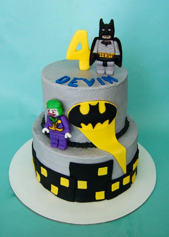 Lego Batman Cake Decorating Kit (100% Edible) by ...