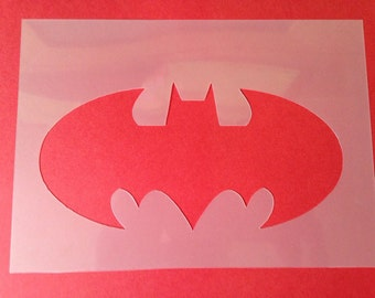 Batman stencil superhero silhouette bedroom airbrush painting fabric paint decorating Playroom furniture