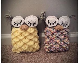 Stuffed Animals Crochet Owl