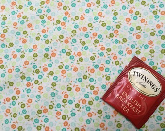 Jenean Morrison for Free Spirit, floral, flower fabric, orange and green