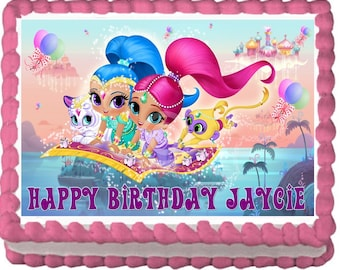 Shimmer and Shine Cake Topper Decoration