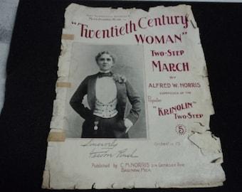 Sheet Music, Vintage