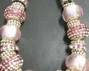 Hollywood Glamour Charm bracelet.