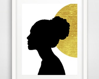 African wall art, woman print, modern wall art, african art, cool wall art, cool posters, home wall decor, wall pictures, best gifts for her