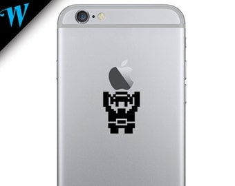 Zelda - Link Holding Apple Vinyl Sticker Decal Skin for all Apple Iphone's