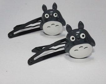 Totoro Hair Clip