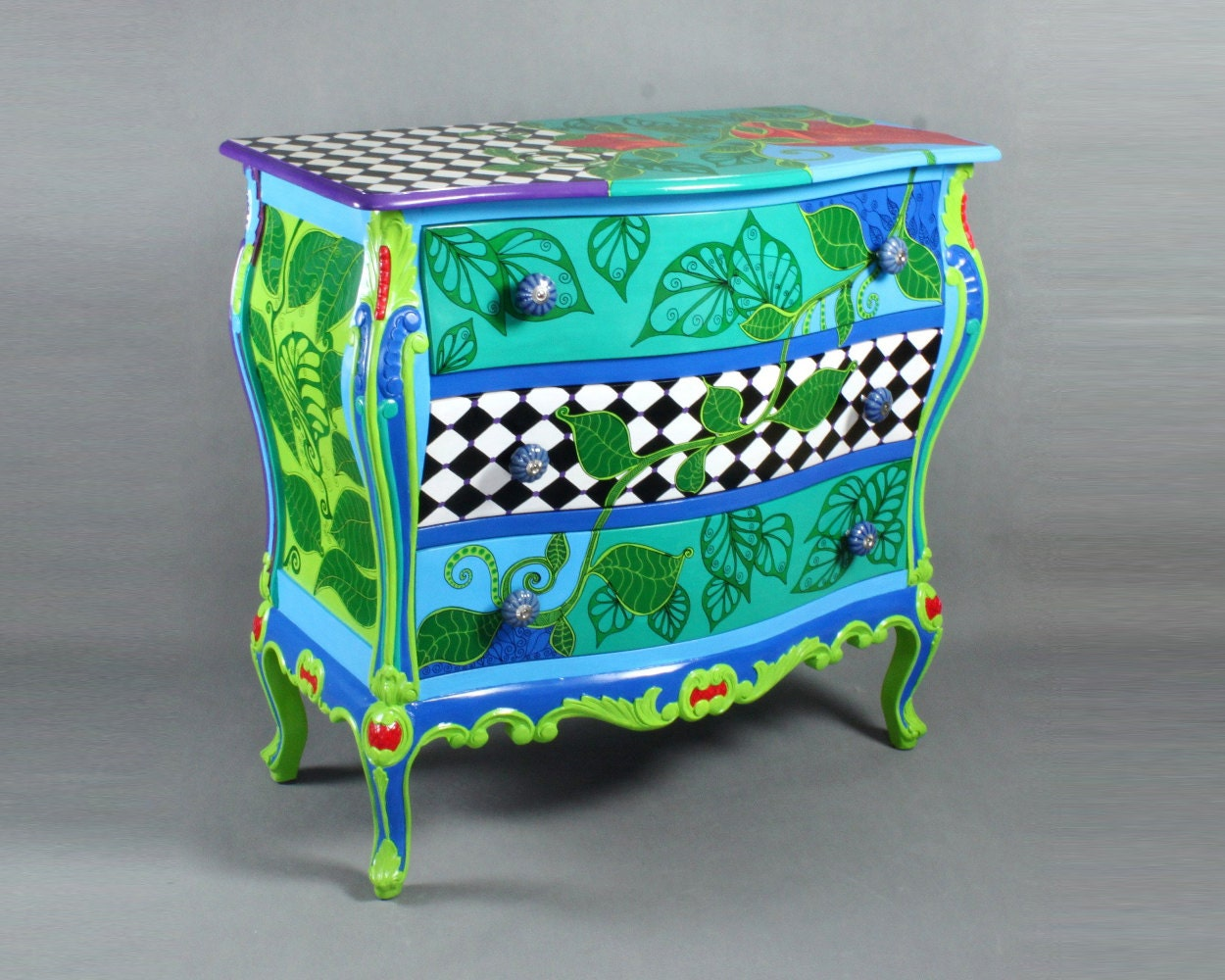 Chest Of Drawers Flora Alice In Wonderland Furniture By