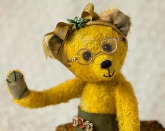 Bekkiebears Lacy OOAK artist teddy bear