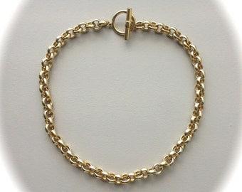 """Vintage Gold Necklace 18"""""""