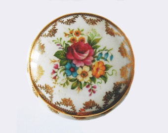 Antique English candy - old small bonbonniere