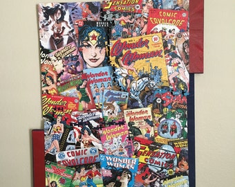 Wonder Woman Wall piece