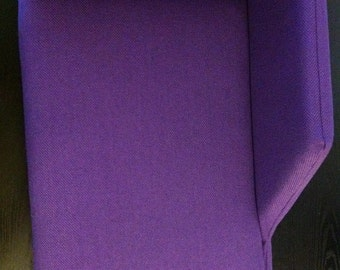 Upholstered Cat Chair - Purple