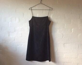 little black 90s dress