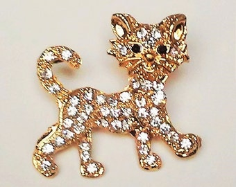 Cute Kitty cat Brooch Pin broach