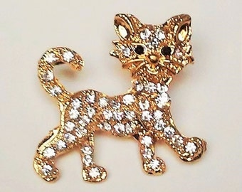 Evil Kitty Broach Pin