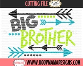 Big Brother with Arrows SVG DXF EPS and png Files for Cutting Machines Cameo or Cricut